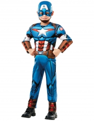 Captain America™ deluxe kostume til drenge