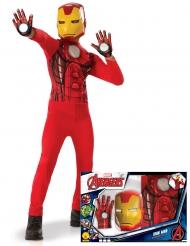 Klassisk Ironman™ kostume med handsker til drenge