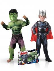 Klassisk Hulk™ og Thor™ kostume til drenge