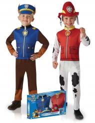 Paw Patrol™ Chase og Marcus kostume til drenge