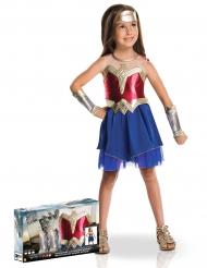 Wonder Woman™ kostume til piger - luxe