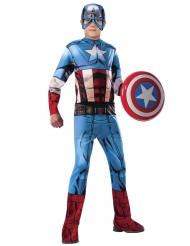 Klassisk Captain America kostume til drenge