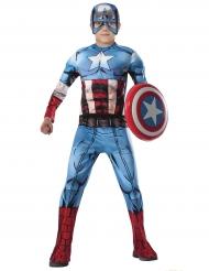 Captain America™ kostume til børn - Deluxe