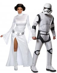 Star Wars™ parkostume prinsesse Leia & Stormtrooper