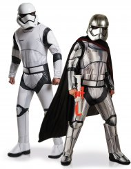 Star Wars™ parkostume Stormtrooper og Captain Phasma