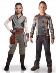 Rey & Finn Star Wars™ parkostumer til børn