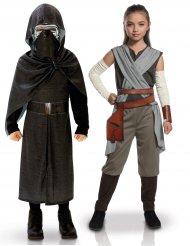 Star Wars™ parkostume til børn - Rey & Kylo Ren