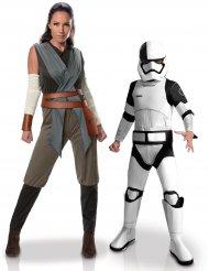 Star Wars™ parkostume Rey & Tango Black Stormtrooper