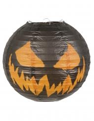 Uhyggelig Halloween lanterne med græskar 25 cm