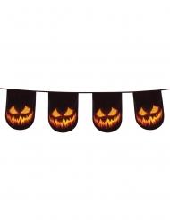 Halloween græskar guirlande 6 m