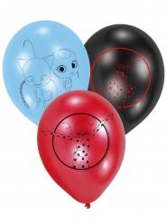 6 stk latex balloner med Ladybug™