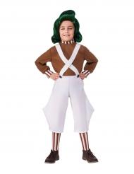 Oompa Loompa™ Charlie og chokoladefabrikken™ kostume barn