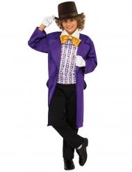 Charlie og Chokoladefabrikken™ Willy Wonka kostume barn