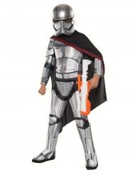 Deluxe kaptajn Phasma kostume til børn - Star Wars™