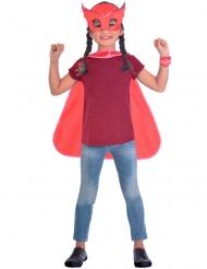 Ugline kit med maske og kappe til børn