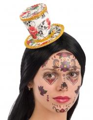 Mini Dia de los Muertos hat til kvinder