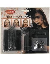 Sort enke sminke kit til Halloween