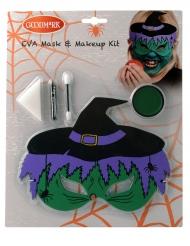 Hekse maske med sminke