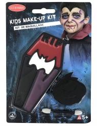Vampyr sminkekit til børn - Kisteformet