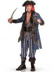 Deluxe piratkostume til voksne