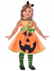 Græskarkostume til piger - Halloween kostume