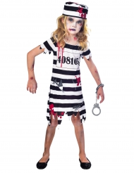 Zombie fangekostume til piger