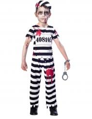 Zombie fangerkostume til børn