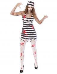 Zombie fangekostume til kvinder