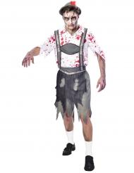 Tyroler zombiekostume til mænd