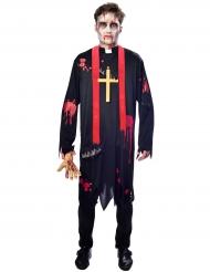 Blodigt præstekostume til mænd