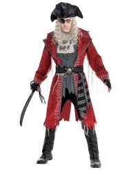 Pirat zombiekostume til voksne