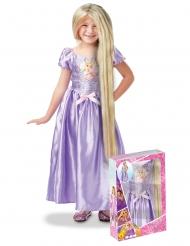 Boks med Rapunzel™ kostume og paryk til piger
