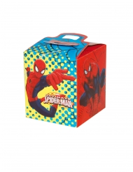 4 stk papæsker med Spiderman™ 9.5x9.5x11 cm