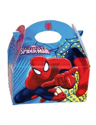 4 stk Spiderman gaveæsker 16x10.5x16 cm