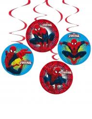 Spiderman™ dekorationer 4 stk.