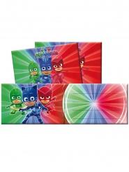6 invitationskort og 6 konvolutter - Pyjamasheltene™