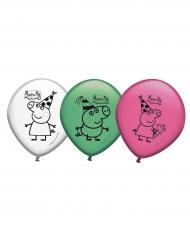 8 Stk latex balloner med Gurli Gris™