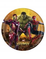 8 stk Avengers Infinity War™ tallerkener
