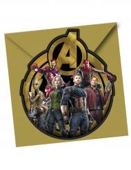 Avengers Infinity War™ invitationer og konvolutter