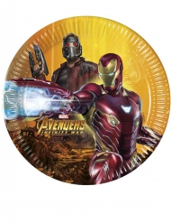 8 Tallerkner Avengers Infinity War™ 20cm