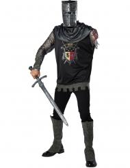 Ridder kostume uden arm til voksne