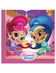 20 Servietter Shimmer and Shine™ 33 x 33 cm