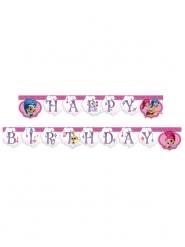Guirlande Happy Birthday Shimmer and Shine™ 2 m