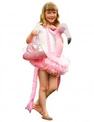 Lyserødt flamingokostume til piger