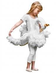 Den hvide svane kostume til børn
