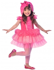 Lyserødt flamingo kostume til piger