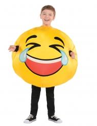 Emoji kostume til børn - Død af grin