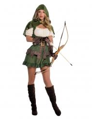 Skovens ridder kostume til kvinder
