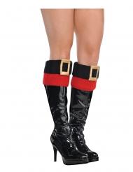 Julemands støvlekanter til kvinder