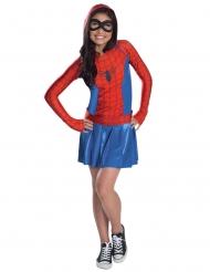 Spider-Girl™ kostume med hætte - pige